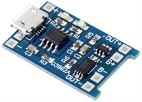 5V 1Α MICRO USB 18650 LITHIUM BATT.CHARGING BOARD